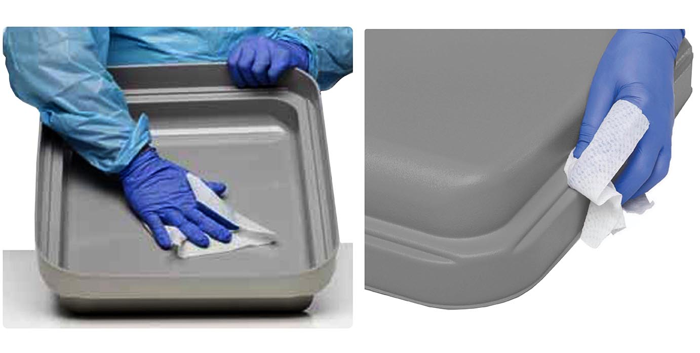 Easy To Clean Endoscope Trays