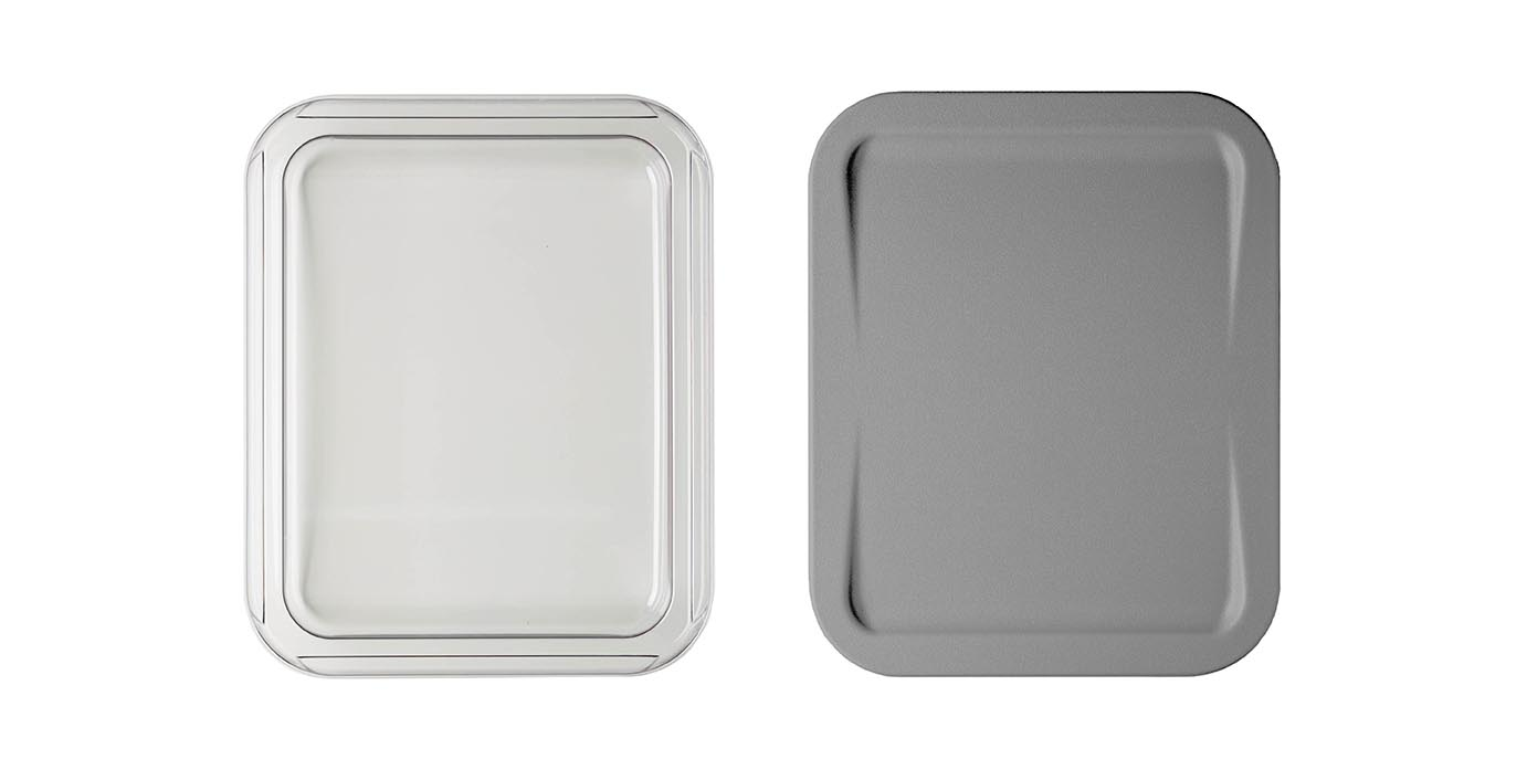 Two High Temperature Medical Lids